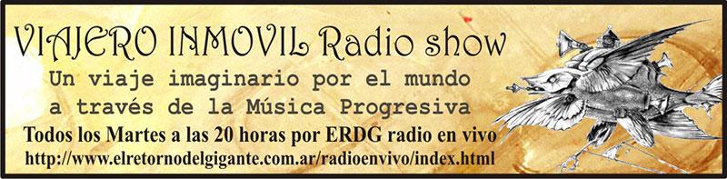 Viajero Inmóvil en la radio